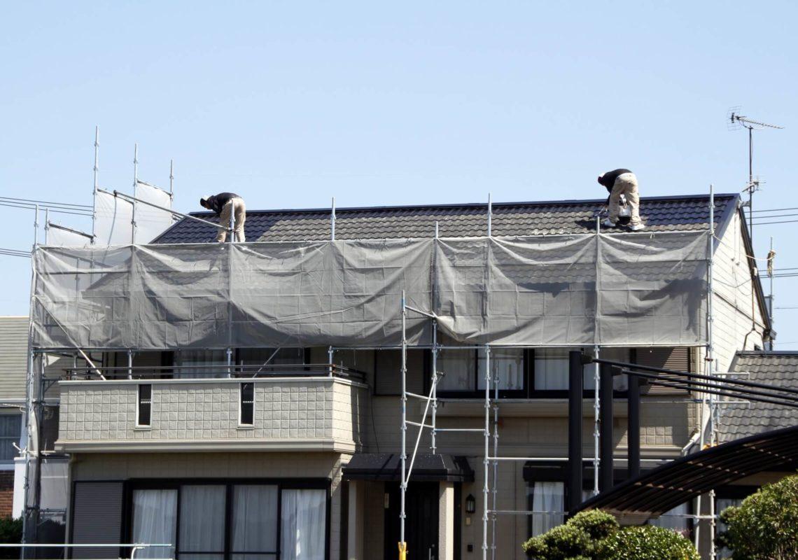 屋根塗装の際に足場なしにメリットなし!そのデメリットとは?
